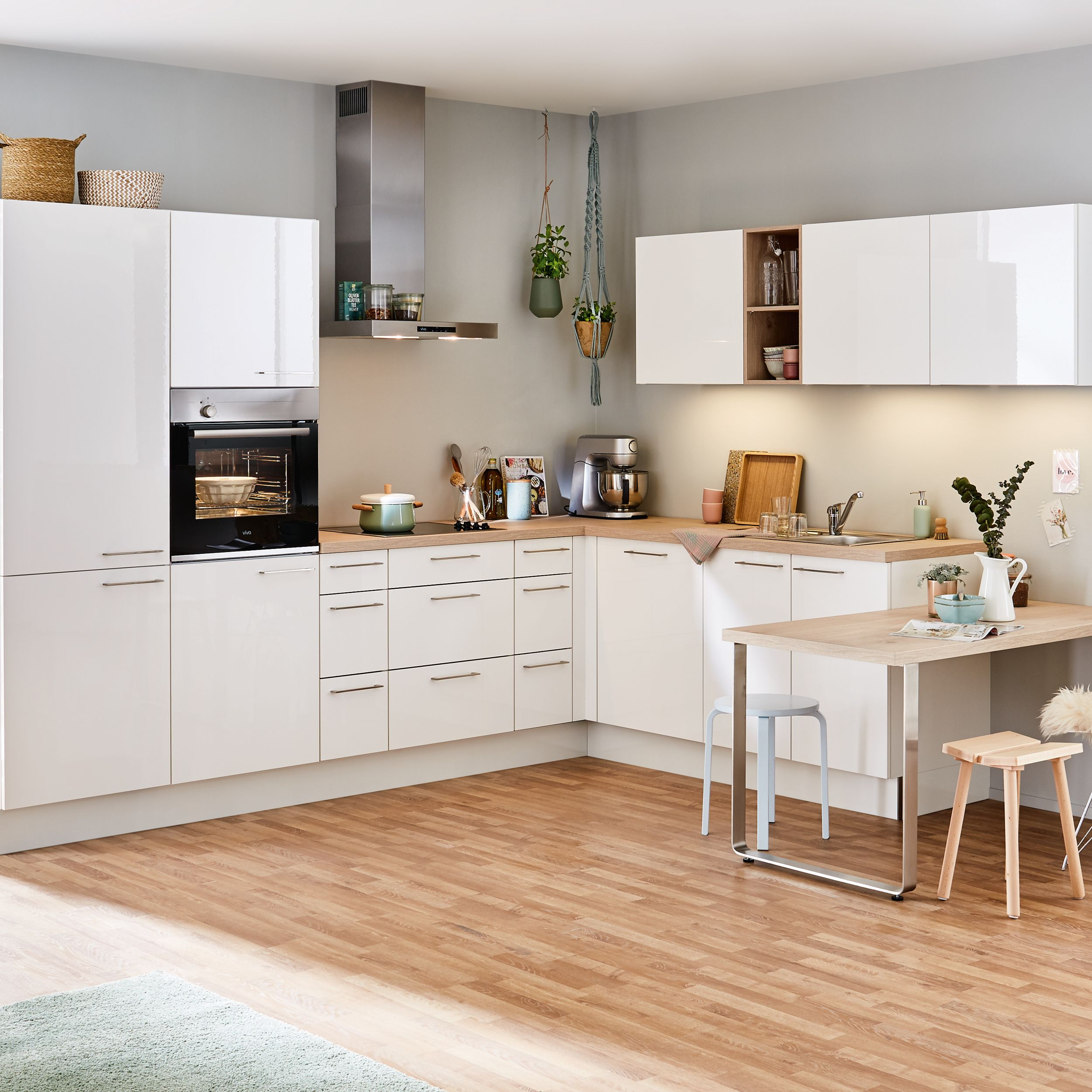 Eckküche Markenküchen mit vielen Küchentrends Küche