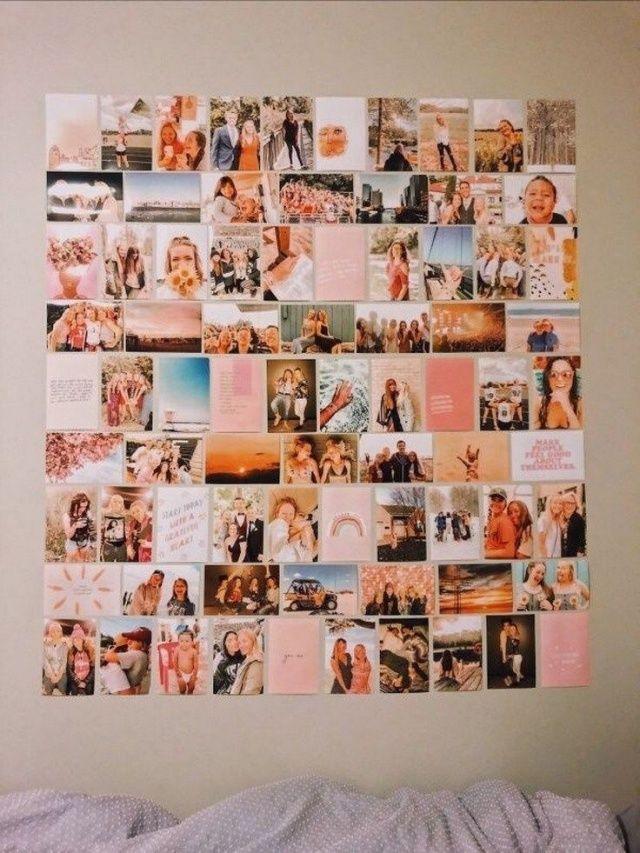 Vsco Happinessinpixels Cool Dorm Rooms Dorm Room Decor Photo Walls Bedroom