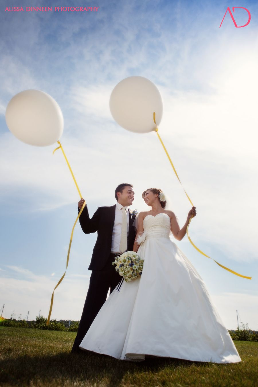 Kinda Loving The Balloons Wedding Yacht Club Blog Photography