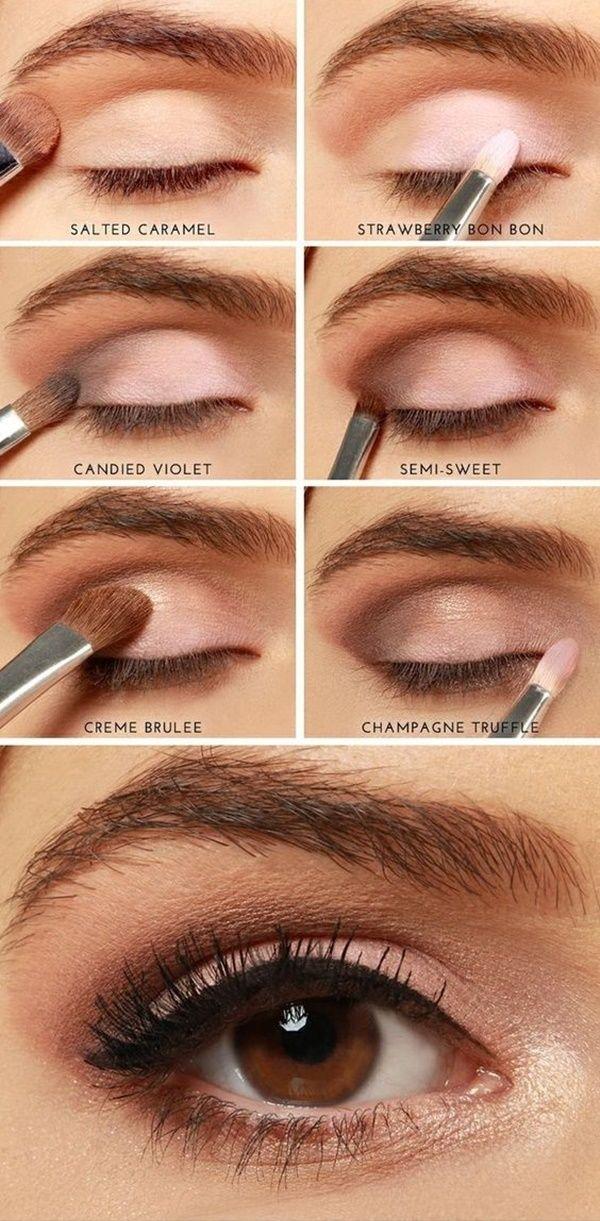 สอนคัดเบ้าตา | MAKE UP | Pinterest | Auge, Schönheitstipps und ...