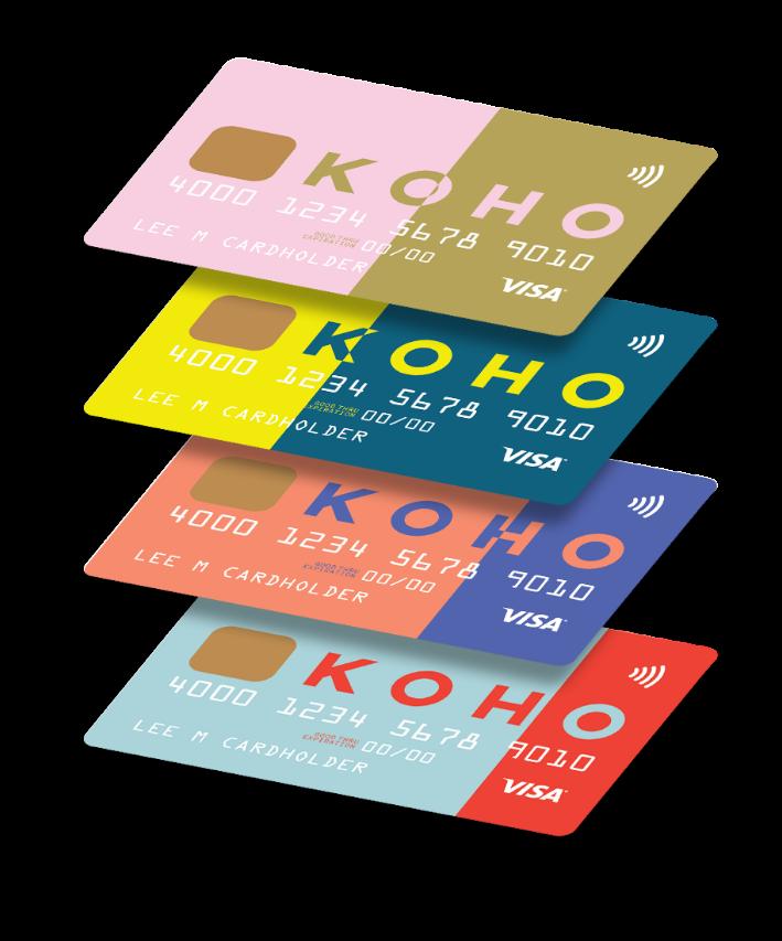 Paying the free forward  Free KOHO prepaid cards: Canadian savings