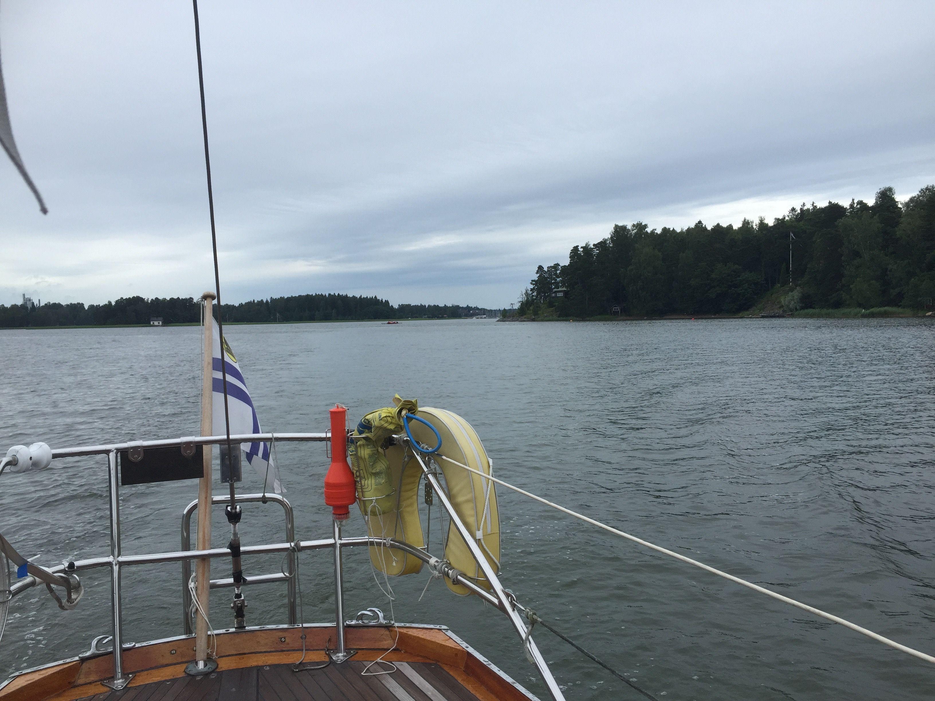 Kesälomapurjehdus 2016 - purjehdus Suomenlahdella ja Virossa