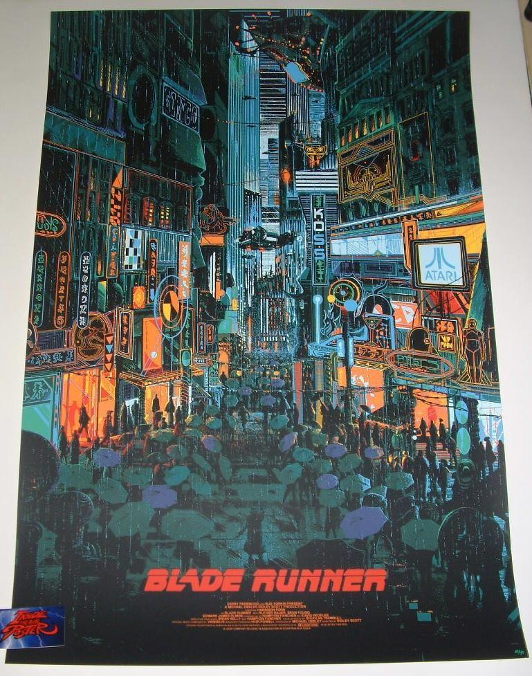 BLADE RUNNER MOVIE POSTER USA Version, Size 24 x 36