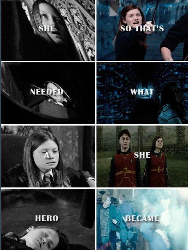 """15 unbestreitbare Gründe, warum Ginny Weasley die wahre MVP von """"Harry Potter"""" war – #Ginny …"""