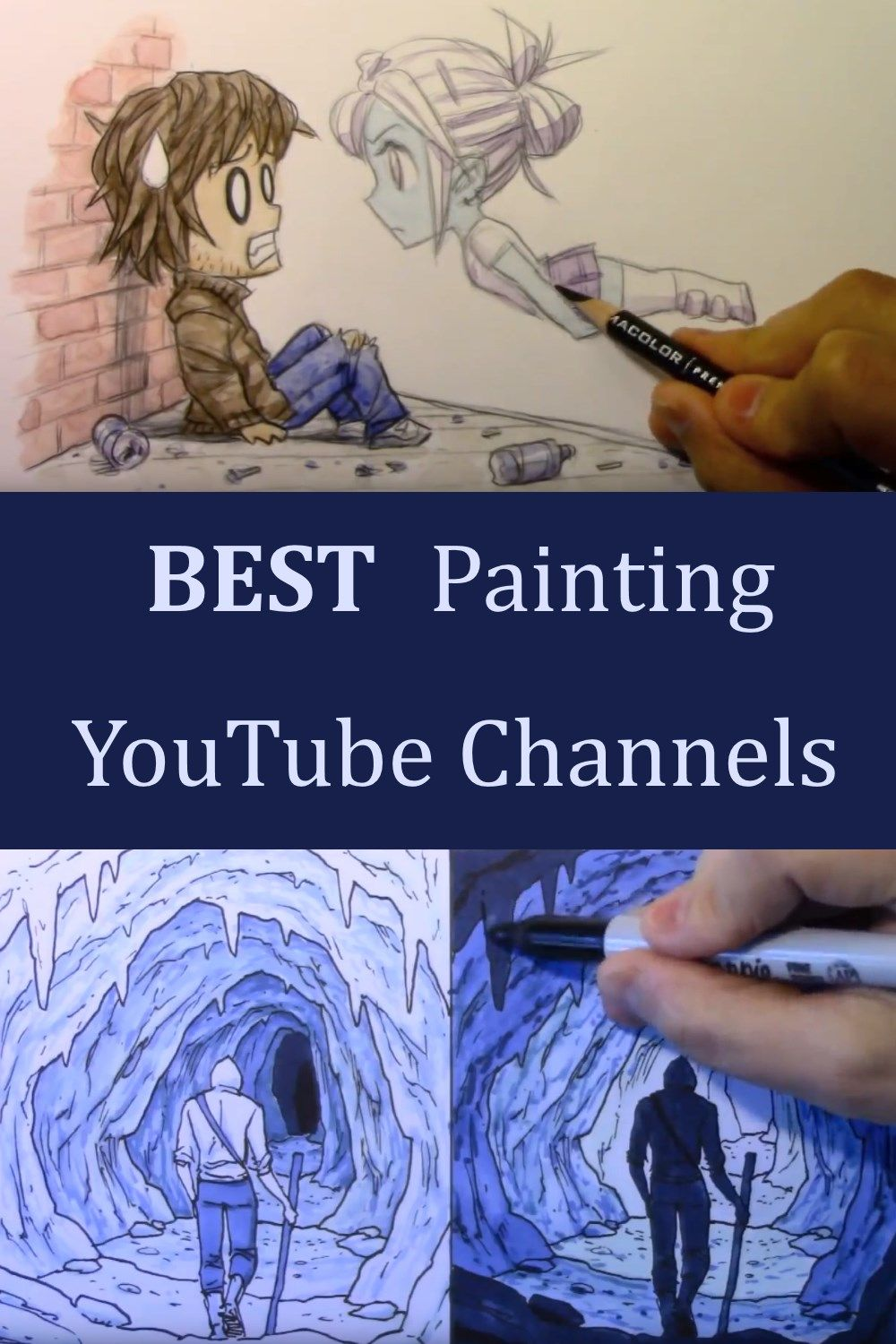 Best Youtube Channels For Learning To Paint In 2020 Online Art
