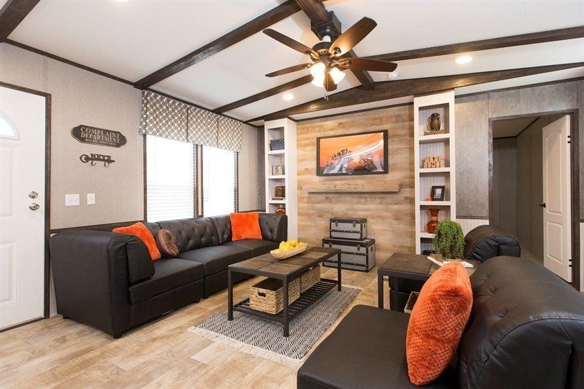 Wide Living Room Layout - CMH Smart Buy SMB16803W 3 Bed 2 ...