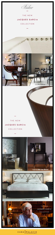 #Baker vuelve a sorprender con la nueva #colección que llega a Casa Palacio, ideada por el reconocido diseñador de interiores Jacques Garcia.