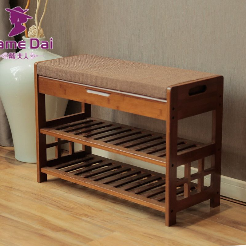 Find More Shoe Cabinets Information about Bamboo Shoe Rack Bench ...