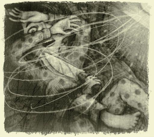 """O ilustrador VLADIMIR da Finlândia apresenta suas ilustrações para o romance de suspense """"Jon for Short"""" http://vladimirsartdesign.prosite.com/67077/1133293/gallery/jon-for-short"""