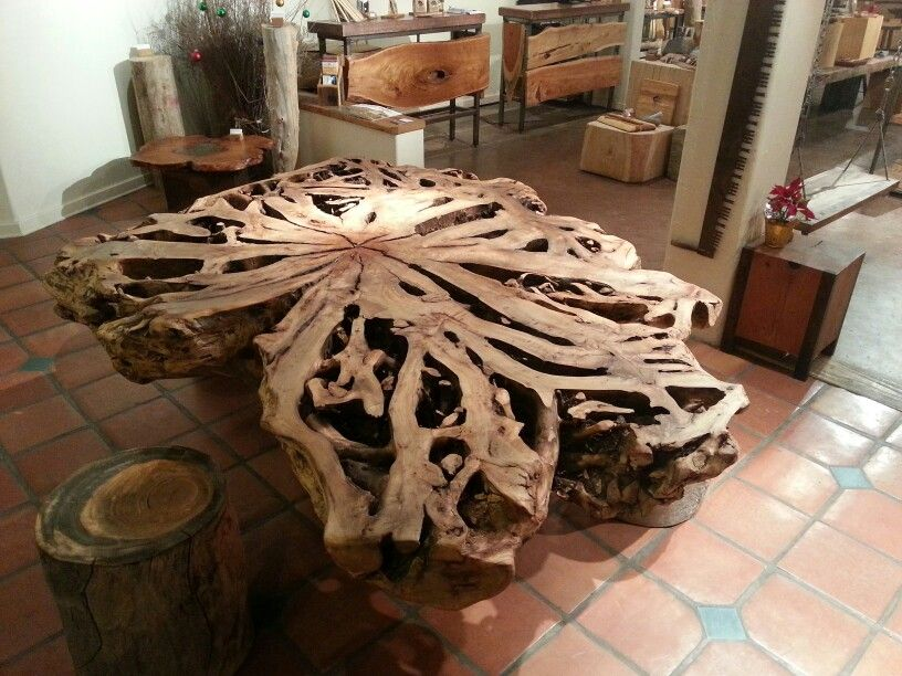 Maple Tree Root Table So Cool Decor, Tree Root Furniture