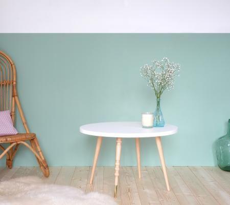Table Basse Ronde Design My Lovely Ballerine Blanc Hetre Met Afbeeldingen Tafels Scandinavisch