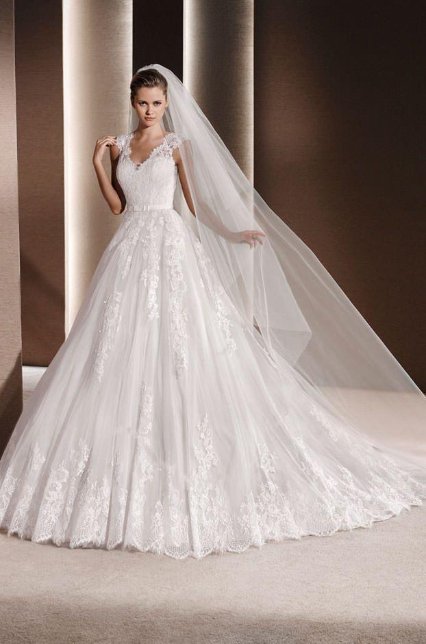 Brautkleider von La Sposa - Model Raven | Wedding gowns for Ash ...