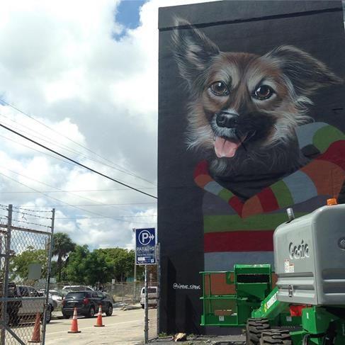 SIPROS in Wynwood artdistrict, Miami, Florida, USA, 2016
