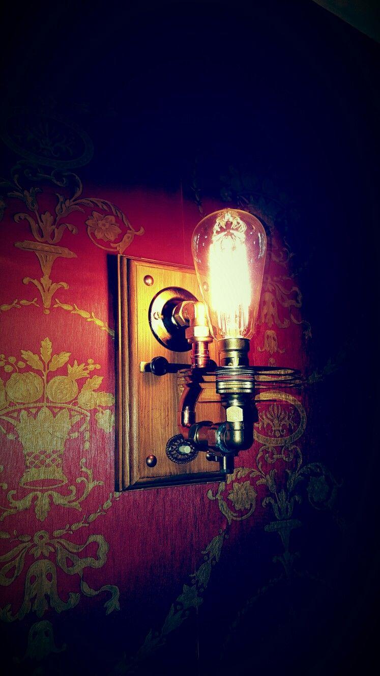Steampunk Lamp by Steve Dabrowski. Steampunk lamp