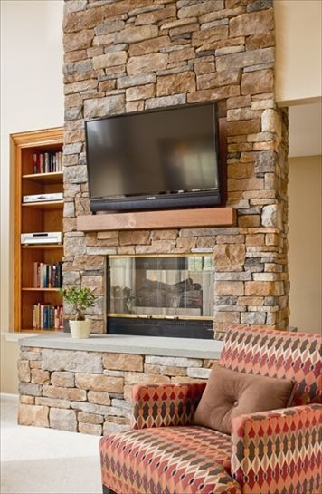 cast veneer stone fireplace using ep henry cast veneer stone