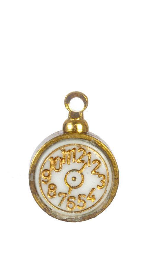 Miniature Dollhouse Chrysnbon Alarm Clock