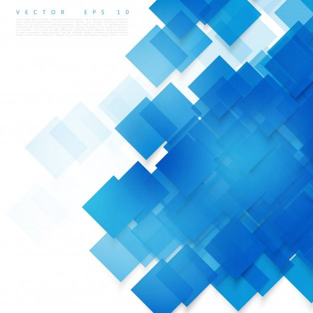 Download Vector Blue Squares Abstract Background For Free