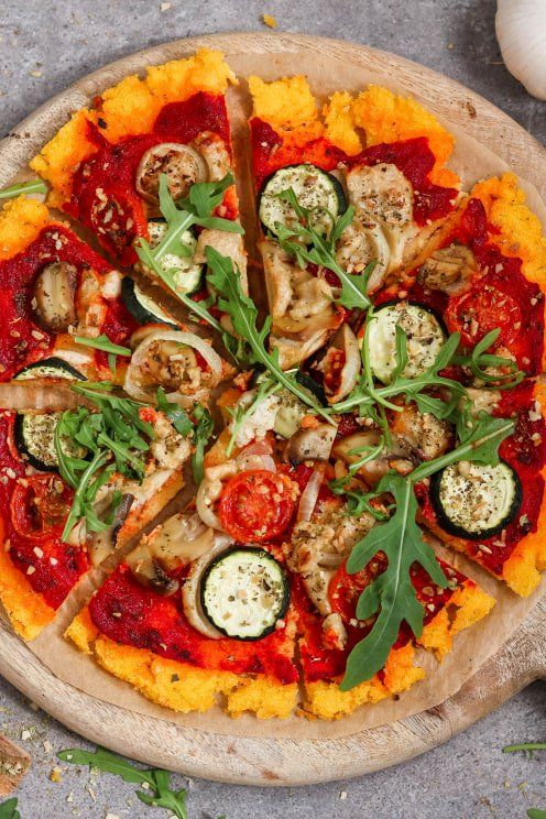 Photo of Recipe for crispy polenta pizza