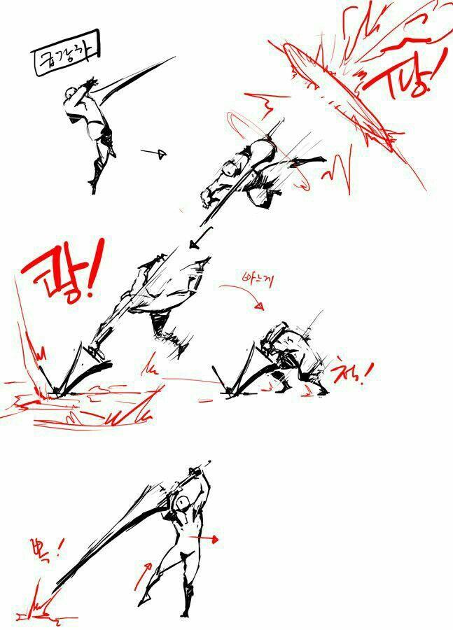 Dibujos De Anime De Pelea