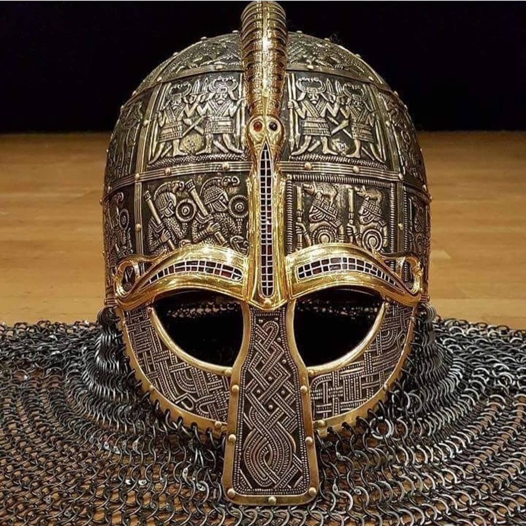 Me Val Time For More Anglo Saxon Helmet Reproduction