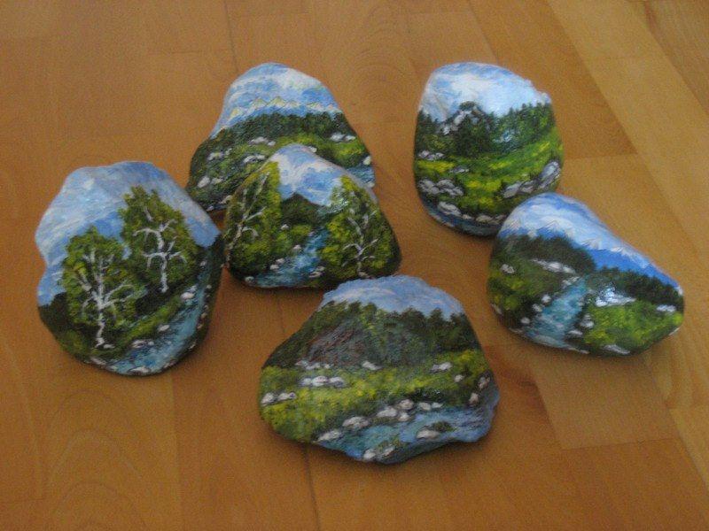 Kamene s krajinkami | Maľovaný svet