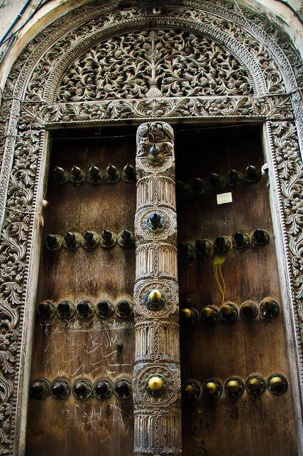The Famous Doors Of Zanzibar Scary Front Door Pinterest