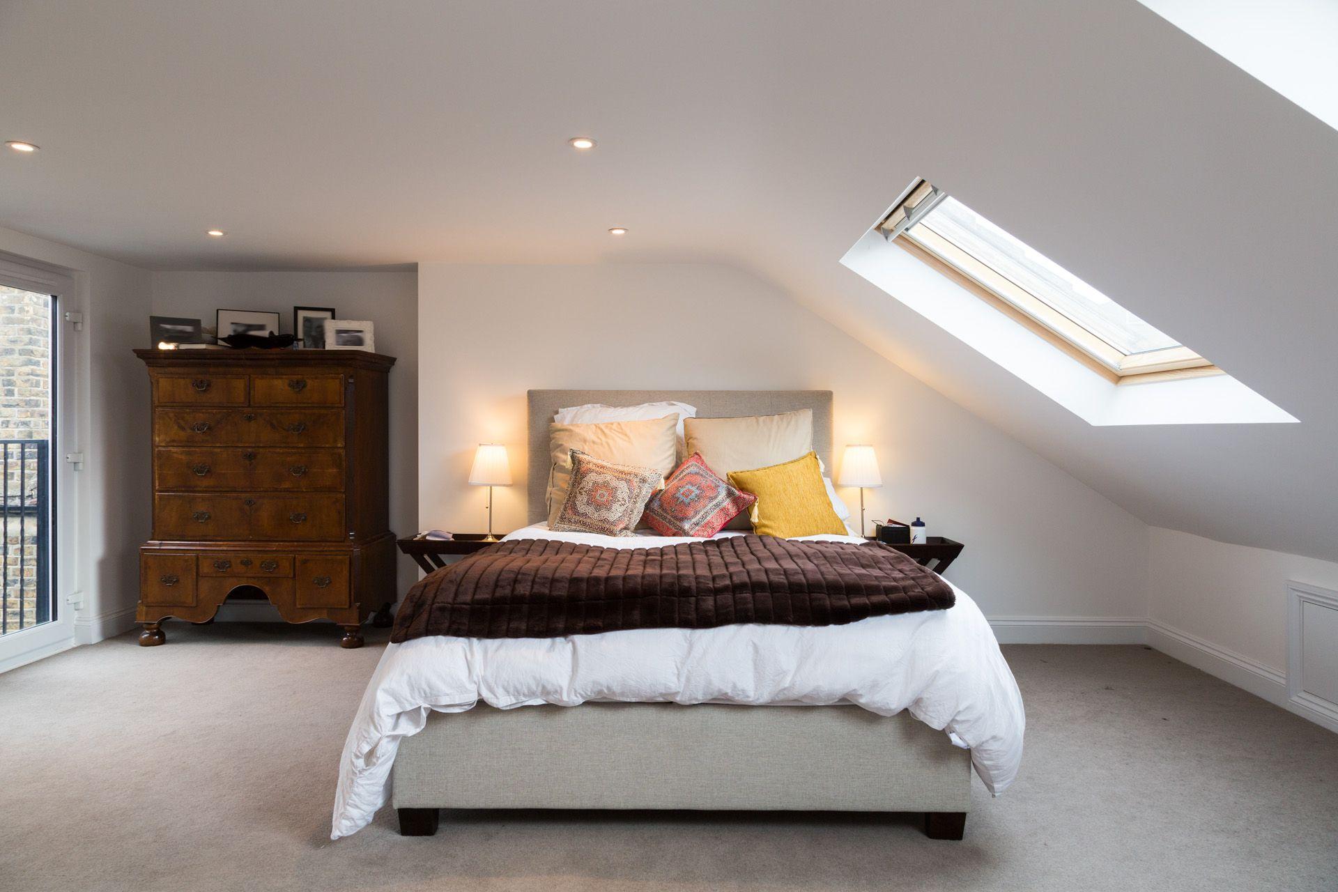 Dormer loft conversion bedroom simply loft pinterest - How to convert a loft into a bedroom ...