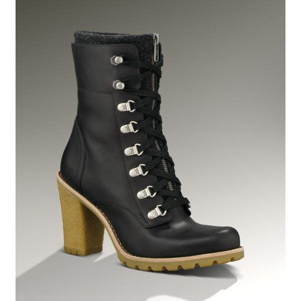 Best Deal Black Ugg Fabrice 1001267 Women Boots For Sale At Zonedout.us