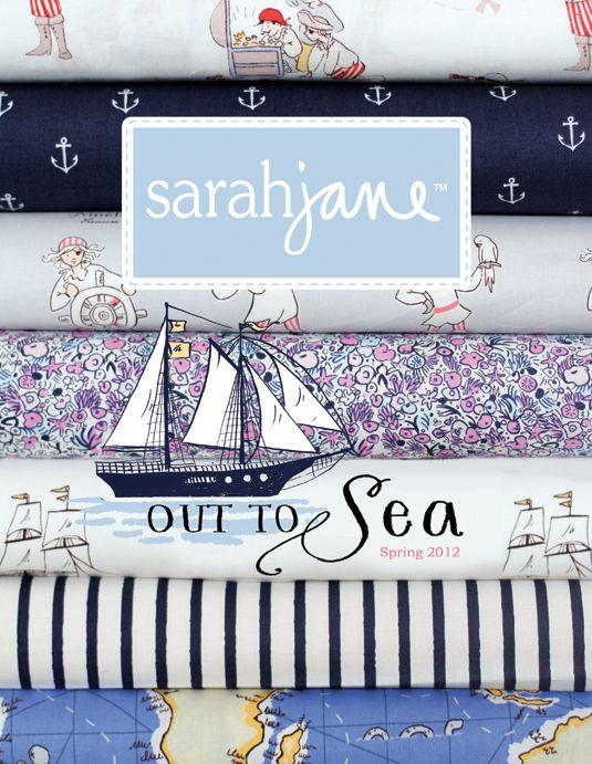 Introducing Out To Sea Sarah Jane Fabric Sarah Jane Studios
