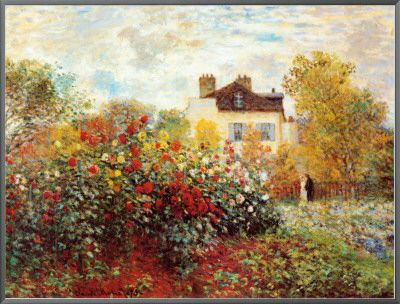 The Artist's House at Argenteuil (Monet) Posters at AllPosters.com