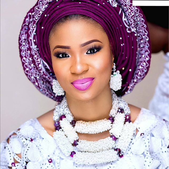 Image result for gele wedding pic