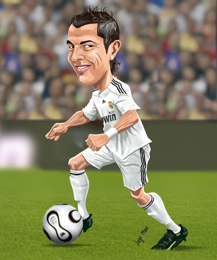 мультипликационные картинки футболиста это