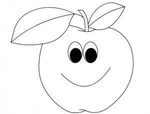 Cartoon Fruits Coloring Pages Riscos Para Patchwork Bordado Em Fita Desenhos