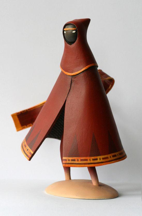 Journey Maquette Games Journey Art Toy Toy Sculpture