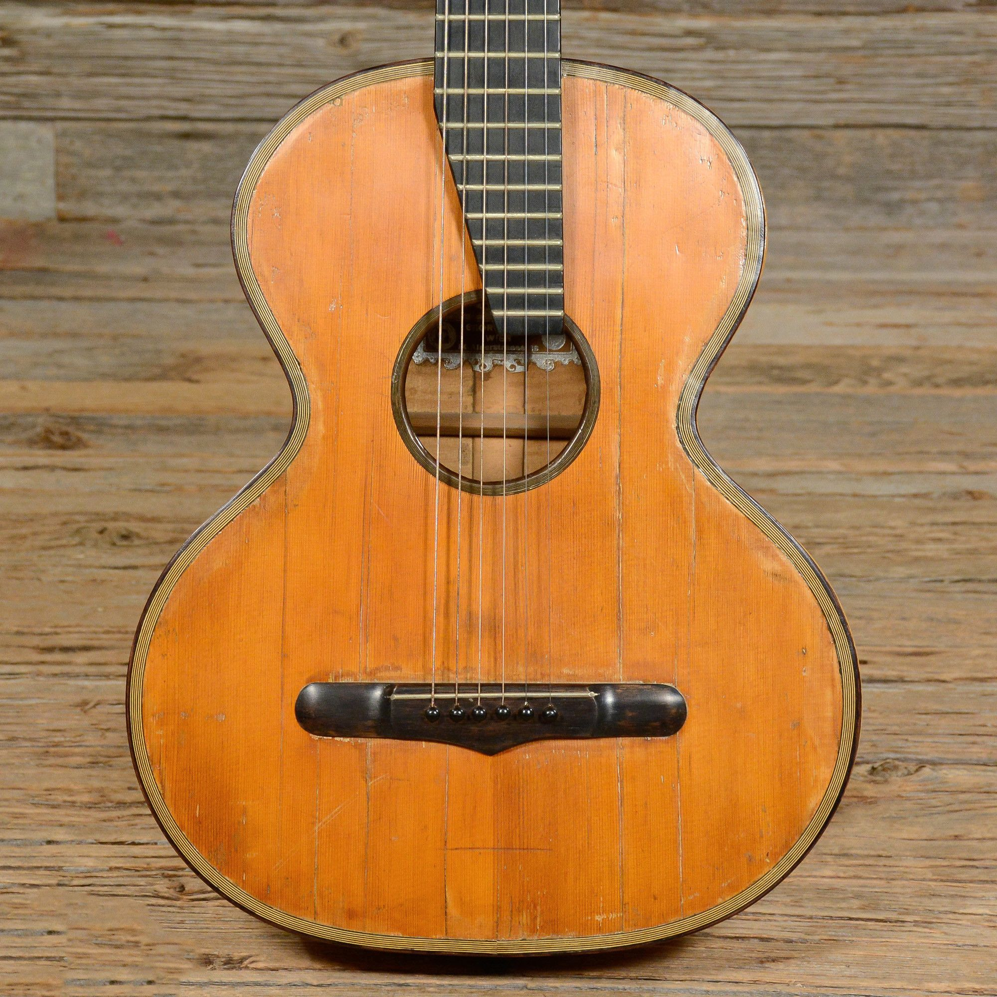 4326c2048c Georg Haid Vintage Parlor Guitar (s484) | Instruments | Guitar ...