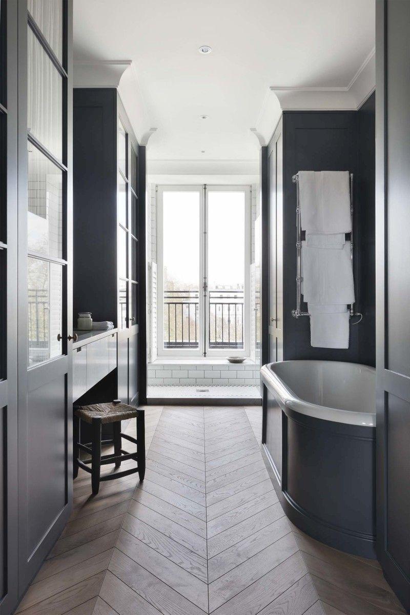 stunning london penthouse bathrooms