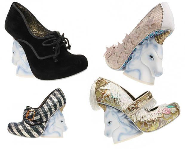 f265b52b480 Unicorn shoes by Irregular choice