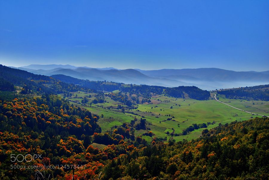 View from Tsepina by rossitsa