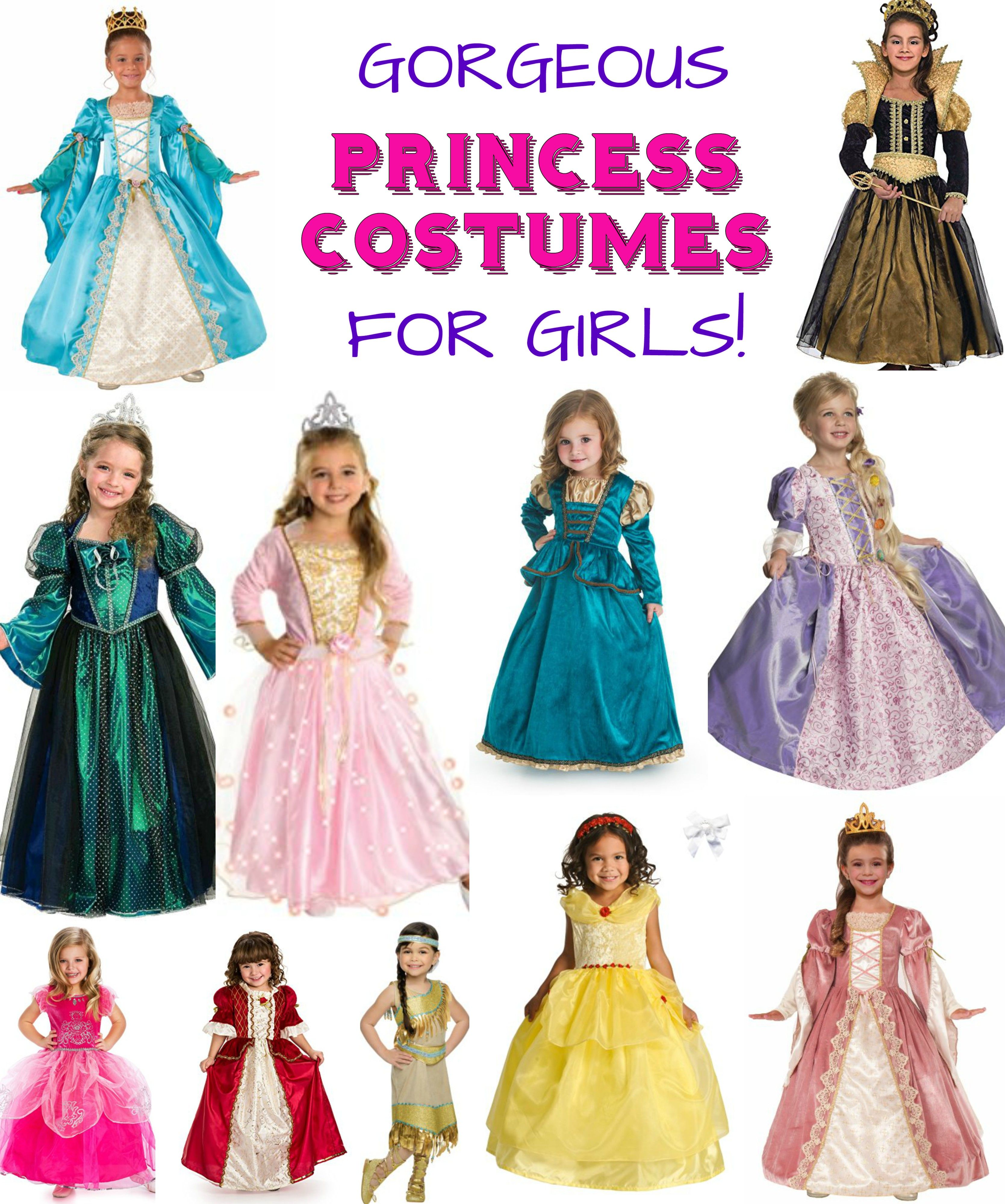Princess Dress Up Outfits Which One Will Be Her New Favorite