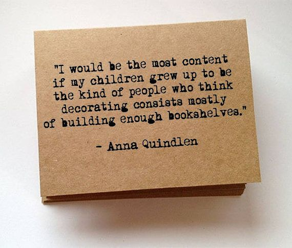 Anna Quindlen literary quote typewriter blank note cards unique birthday gift teacher present best friend pen pal greeting card graduation on Etsy, £4.88