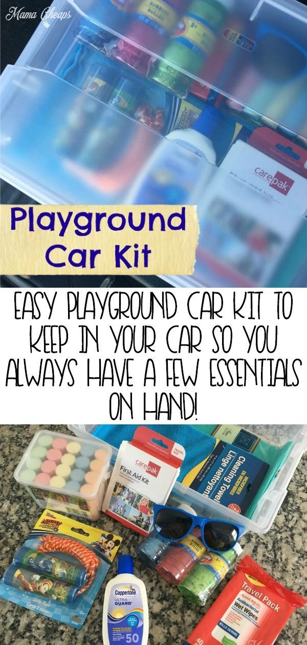How to Make a DIY Playground Car Kit (And Why You Should