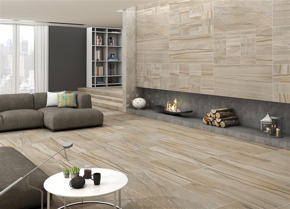 Room Serengeti Ivoire Marmol Floor Tile Size