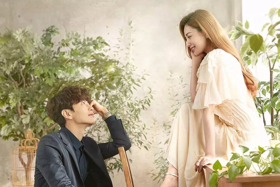 """Lee Min Ki And Nana Get Lost In Each Other's Eyes In """"Oh My Ladylord"""" Poster"""