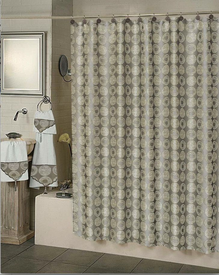 Twilight Shower Curtain By Daintyhome On Etsy Shower Curtain Patterned Shower Curtain Elegant Shower Curtains