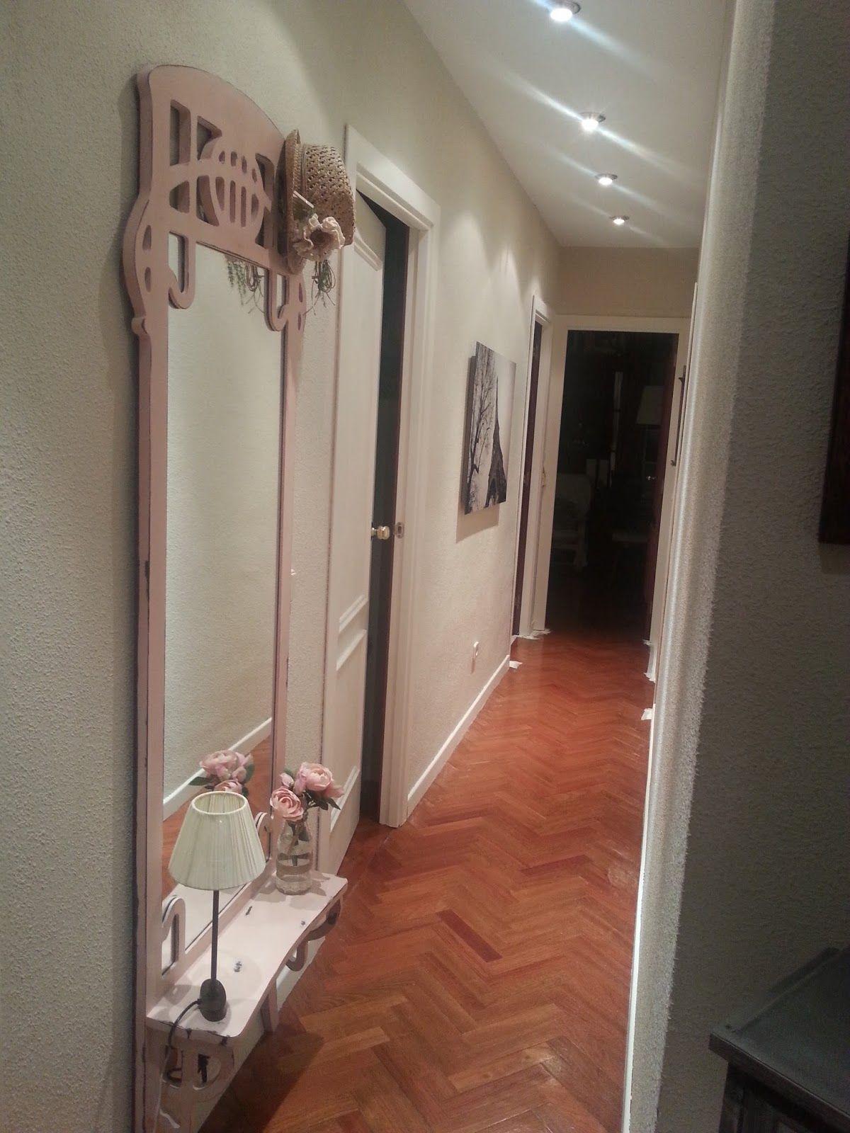 So ando entre nubes c mo pintar madera sin lijar puertas y pasillo i bricolaje materiales - Como pintar puertas de madera en blanco ...