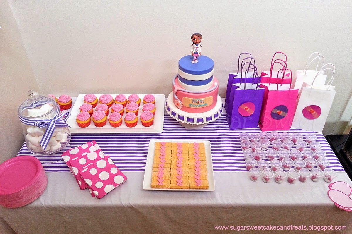 Doc McStuffins Cake | Sugar Sweet Cakes and Treats