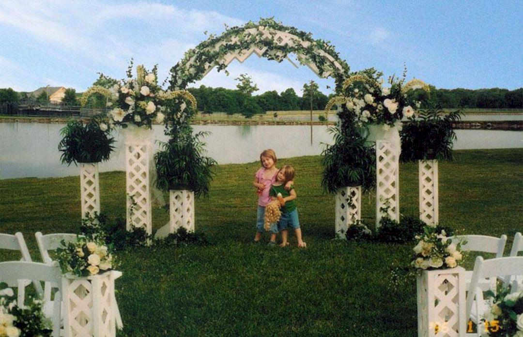 40 Incredible Outdoor Wedding Ceremony Decoration Ideas