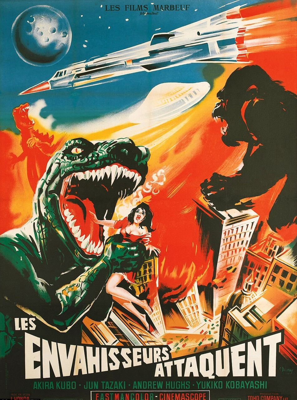 Giallo Horror Vintage Trash Movie Art Canvas Poster Print
