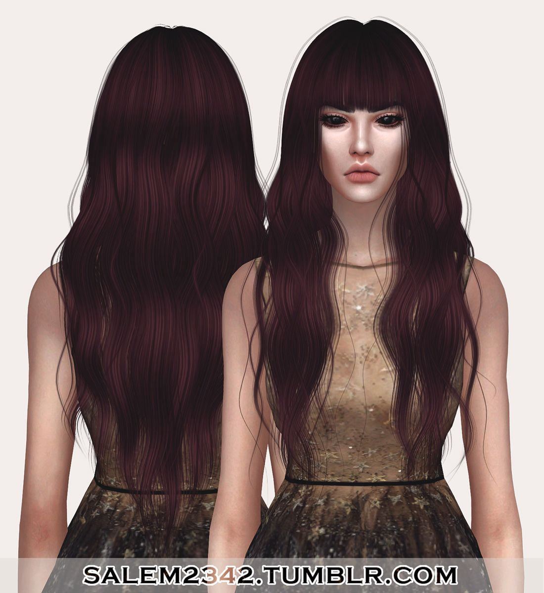 Anto Dawn Hair Retexture (TS4)• standalone • 30 swatches • MESH IS NOT INCLUDED -> download mesh (you need it!) • textures by me DOWNLOAD