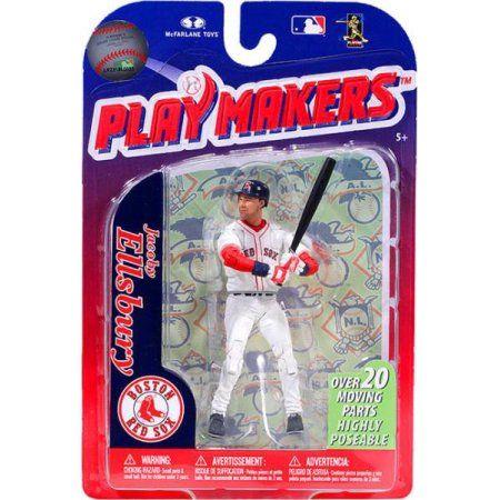 McFarlane MLB Playmakers Series 3 Jacoby Ellsbury Action Figure, Multicolor